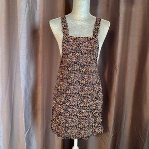 Floral Print Jumper Dress